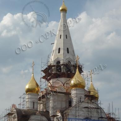 Изготовление Крестов для храма в честь Иверской иконы Божией Матери