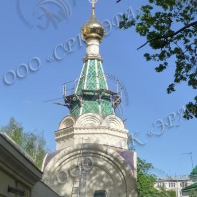 Москва. Сретенский монастырь. Часовня Иоанна Богослова.
