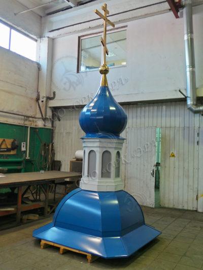Изготовление, производство, золочение и возведение куполов