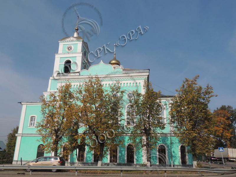 Центральный купол с крестом для Свято-Троицкого храма