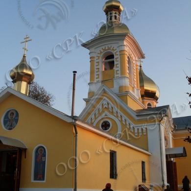 Реставрация Храма и Часовни женского монастыря в честь Святого великомученика Дмитрия Солунского