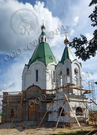 Изготовление куполов для Храма Преображения Господня