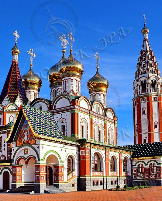 Храм всех Святых в г. Гусеве Калининградской обл.
