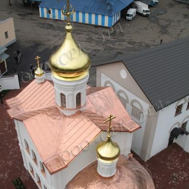 Церковь Иконы Божией Матери Спорительница хлебов при Щелковском хлебозаводе, МО.