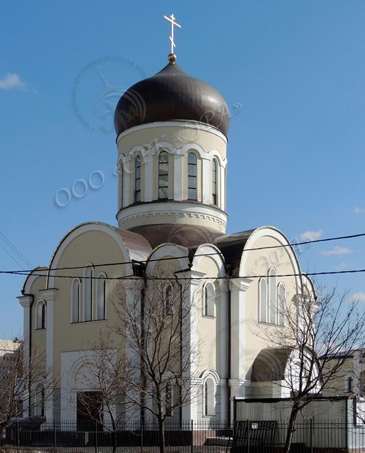 Храм Алексия Мечева в Вешняках