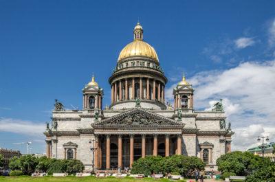 Изготовление куполов Исаакиевскому собору в Санкт-Петербурге