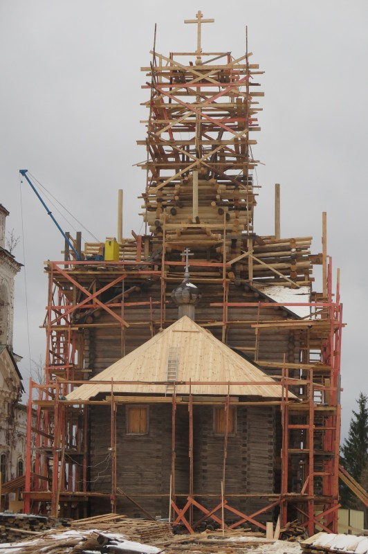 Крыша церквей храмов